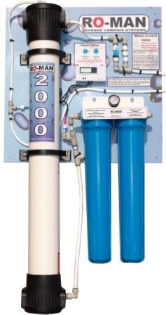 стационарная установка деминерализации воды